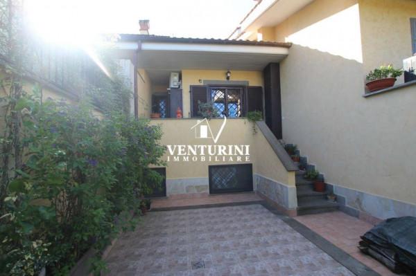 Villetta a schiera in vendita a Roma, Valle Muricana, Con giardino, 130 mq - Foto 3