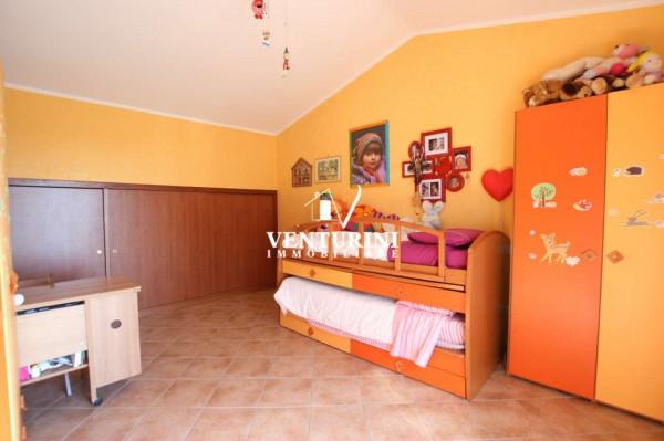 Villetta a schiera in vendita a Roma, Valle Muricana, Con giardino, 130 mq - Foto 8
