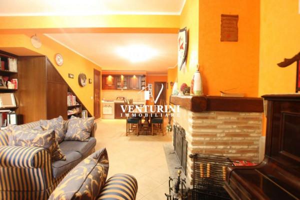 Villetta a schiera in vendita a Roma, Valle Muricana, Con giardino, 130 mq - Foto 13