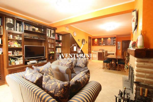 Villetta a schiera in vendita a Roma, Valle Muricana, Con giardino, 130 mq - Foto 12