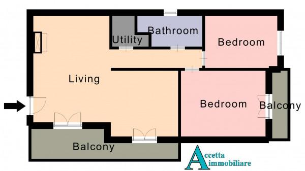 Appartamento in vendita a Taranto, Talsano, 92 mq - Foto 2