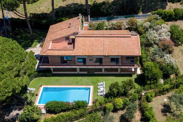 Villa in vendita a Grottaferrata, Borghetto, Con giardino, 565 mq - Foto 1