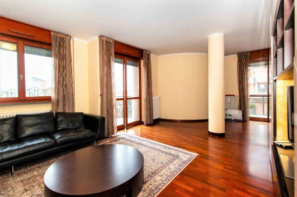 Appartamento in vendita a Torino, Arredato, con giardino, 160 mq - Foto 1
