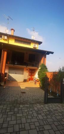 Villetta a schiera in vendita a Cremosano, Residenziale, Con giardino, 141 mq - Foto 8