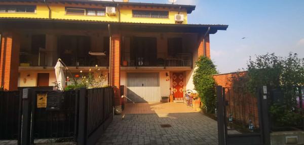 Villetta a schiera in vendita a Cremosano, Residenziale, Con giardino, 141 mq - Foto 7