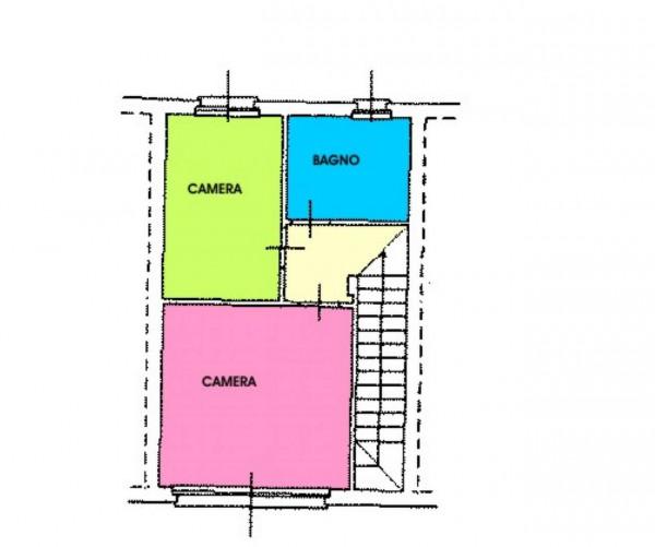 Villetta a schiera in vendita a Cremosano, Residenziale, Con giardino, 141 mq - Foto 2