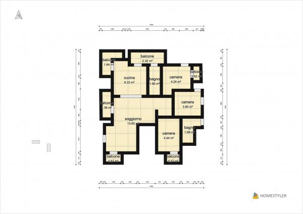 Appartamento in vendita a Sant'Anastasia, Centrale, Con giardino, 180 mq - Foto 2