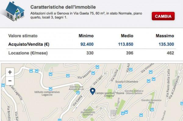 Appartamento in vendita a Genova, Vesuvio, 65 mq - Foto 2