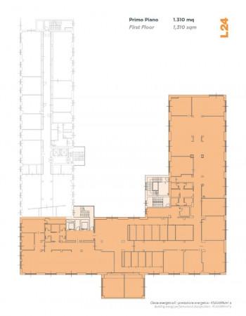 Ufficio in affitto a Milano, 1310 mq - Foto 3