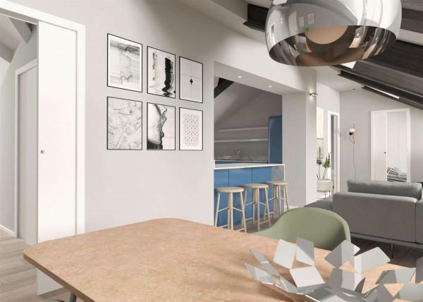 Appartamento in vendita a Torino, 130 mq