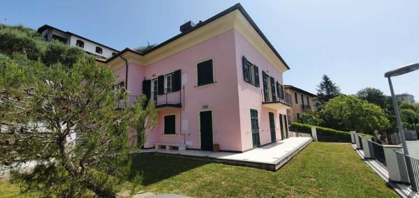 Appartamento in affitto a Chiavari, Sant'andrea Di Rovereto, Arredato, con giardino, 190 mq - Foto 1