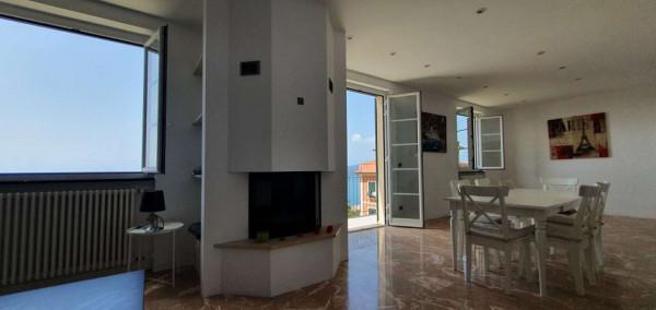 Appartamento in affitto a Chiavari, Sant'andrea Di Rovereto, Arredato, con giardino, 190 mq - Foto 15