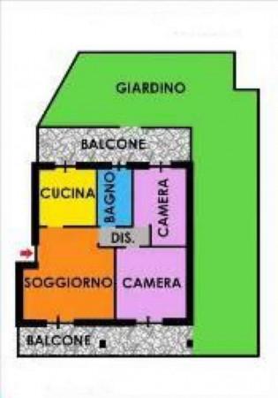Appartamento in affitto a Cesate, Con giardino, 85 mq
