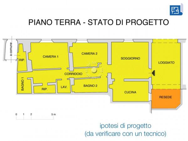 Appartamento in vendita a Firenze, Con giardino, 142 mq - Foto 3