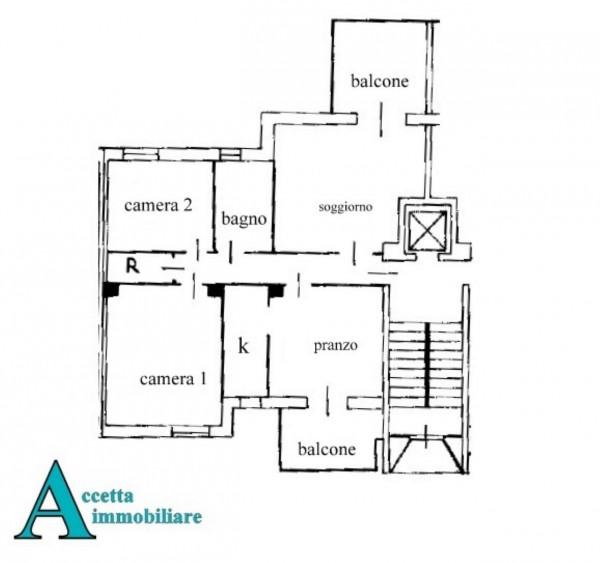Appartamento in vendita a Taranto, Rione Laghi - Taranto 2, Con giardino, 94 mq - Foto 2