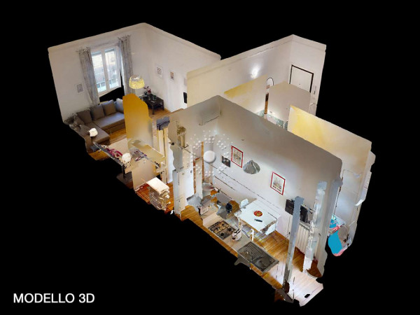 Appartamento in vendita a Firenze, Arredato, 47 mq - Foto 2