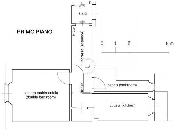 Appartamento in vendita a Firenze, Arredato, 47 mq - Foto 5
