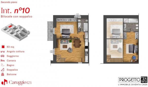 Appartamento in vendita a Chiavari, Centro Storico, 85 mq - Foto 3