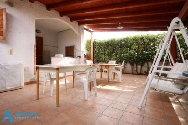 Villa in vendita a Leporano, Porto Pirrone, Con giardino, 96 mq - Foto 17