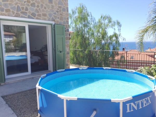 Casa indipendente in vendita a Bordighera, Semicento, Con giardino, 160 mq - Foto 3