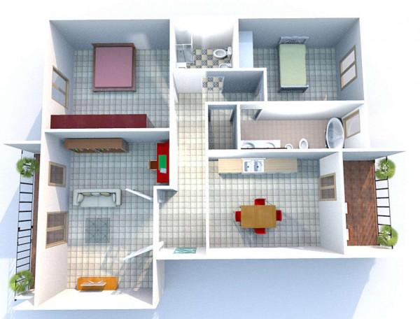 Appartamento in affitto a Taranto, Rione Laghi - Taranto 2, Con giardino, 110 mq - Foto 2