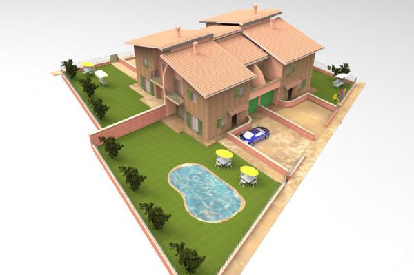 Villa in vendita a Deruta, Deruta, Con giardino, 150 mq - Foto 15