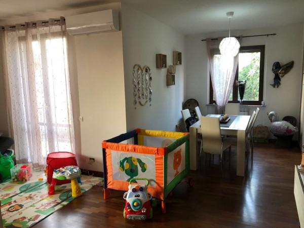 Appartamento in vendita a Sangiano, Centro, Con giardino, 115 mq - Foto 21