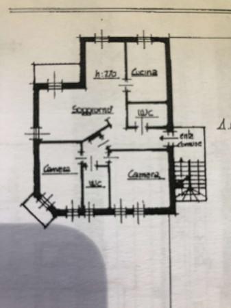 Appartamento in vendita a Sangiano, Centro, Con giardino, 115 mq - Foto 4