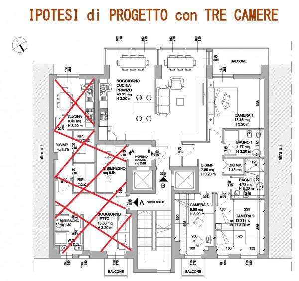 Appartamento in vendita a Milano, Repubblica, 125 mq - Foto 3