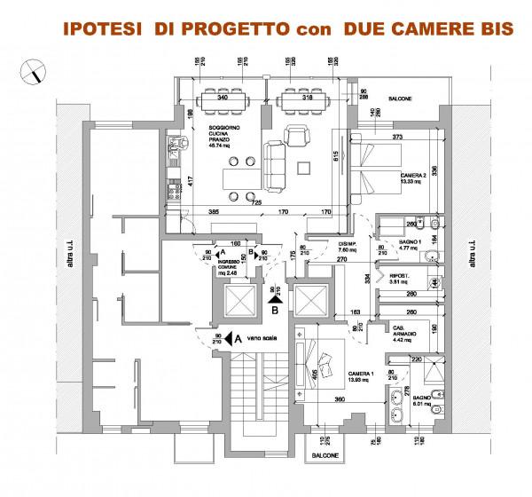 Appartamento in vendita a Milano, Repubblica, 125 mq - Foto 4