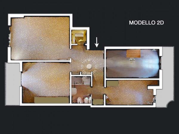 Appartamento in vendita a Firenze, Con giardino, 80 mq - Foto 3
