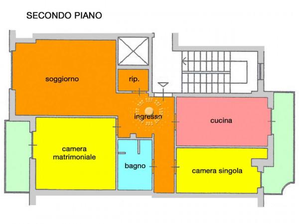 Appartamento in vendita a Firenze, Con giardino, 80 mq - Foto 5