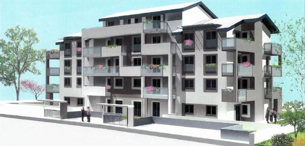 Appartamento in vendita a Borgaro Torinese, Con giardino, 101 mq