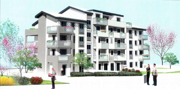 Appartamento in vendita a Borgaro Torinese, Con giardino, 107 mq - Foto 1