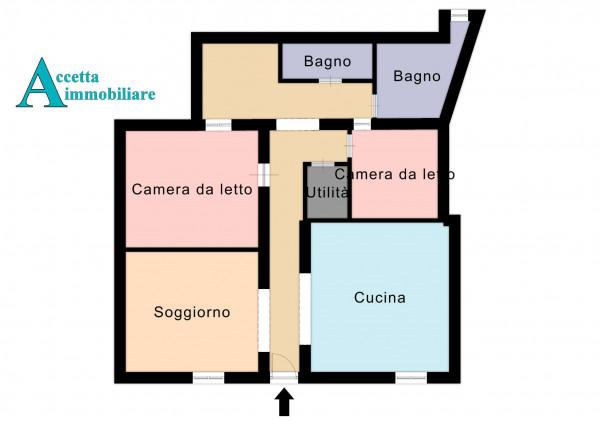 Casa indipendente in vendita a Taranto, Talsano, 124 mq - Foto 2