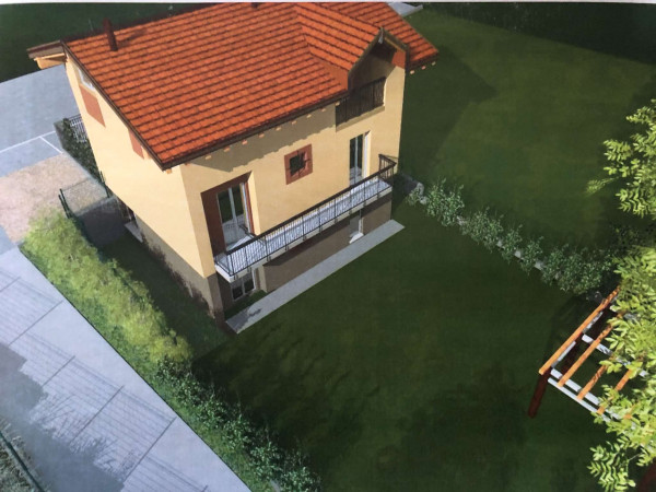 Villa in vendita a Gavirate, Voltorre, Con giardino, 225 mq - Foto 18