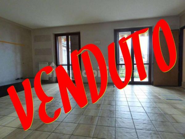 Appartamento in vendita a Borgaro Torinese, Con giardino, 125 mq - Foto 1