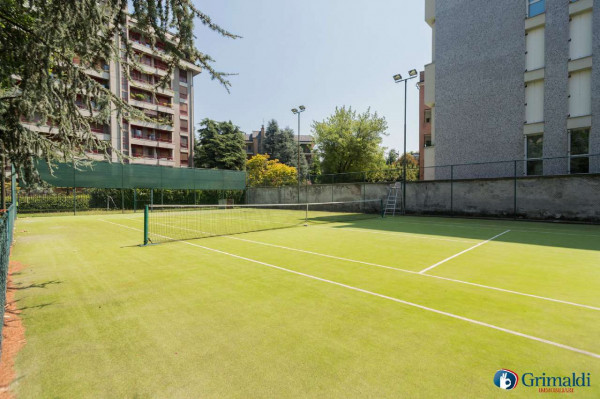 Appartamento in vendita a Milano, San Siro, Con giardino, 250 mq - Foto 32