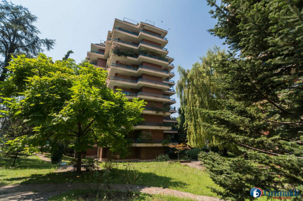 Appartamento in vendita a Milano, San Siro, Con giardino, 250 mq - Foto 34