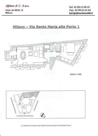 Appartamento in affitto a Milano, Magenta, Arredato, 70 mq - Foto 2
