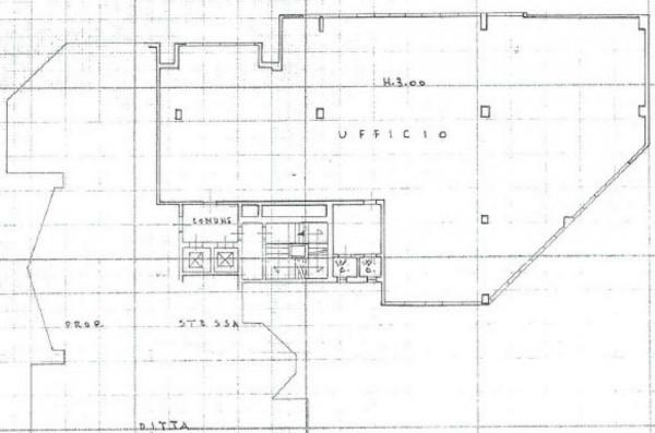 Ufficio in vendita a Brescia, Bresciadue, 300 mq - Foto 3