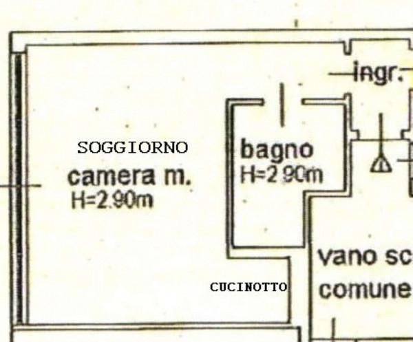 Appartamento in affitto a Milano, Conciliazione, Arredato, 31 mq - Foto 10