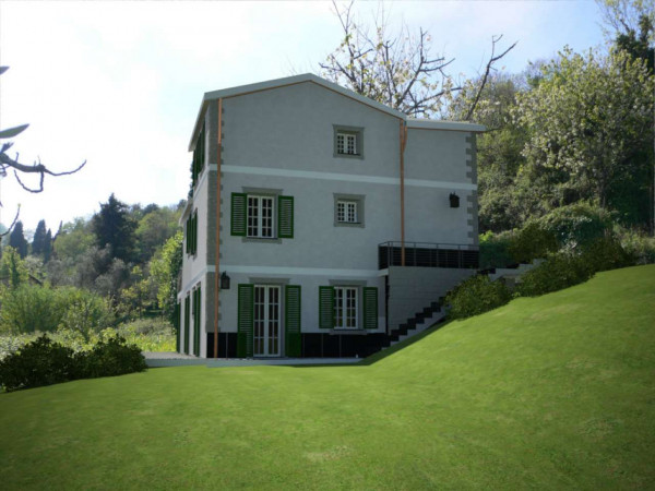 Villa in vendita a Santa Margherita Ligure, S.lorenzo Della Costa, Con giardino, 300 mq - Foto 21
