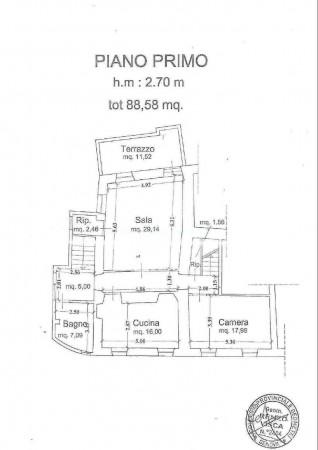 Casa indipendente in vendita a Levanto, Con giardino, 355 mq - Foto 7