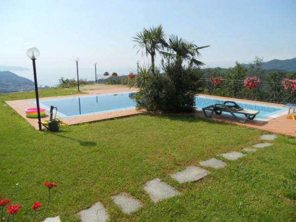 Villa in vendita a Rapallo, Savagna, Con giardino, 150 mq - Foto 20