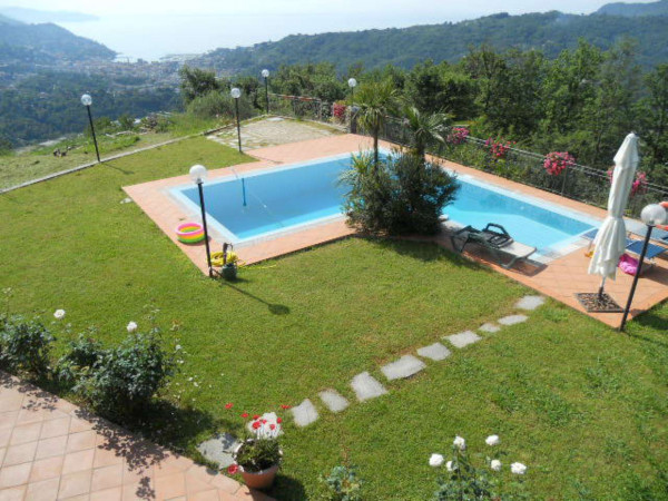 Villa in vendita a Rapallo, Savagna, Con giardino, 150 mq - Foto 23
