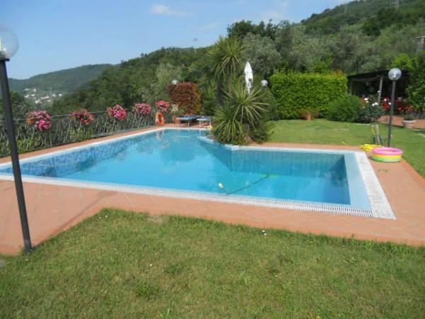 Villa in vendita a Rapallo, Savagna, Con giardino, 150 mq - Foto 22