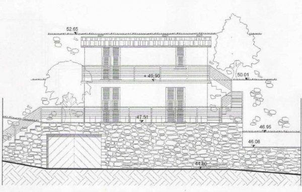 Villa in vendita a Rapallo, Via Milano, Con giardino, 75 mq - Foto 3