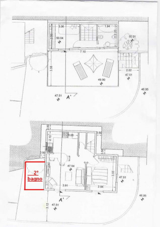 Villa in vendita a Rapallo, Via Milano, Con giardino, 75 mq - Foto 2