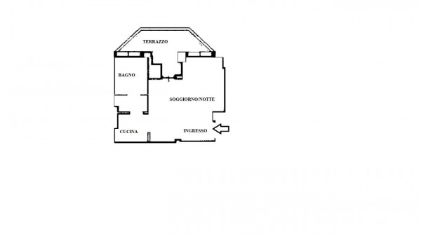 Appartamento in vendita a Milano, De Angeli, 40 mq - Foto 2
